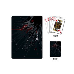 Big Bang Playing Cards (mini)  by ValentinaDesign