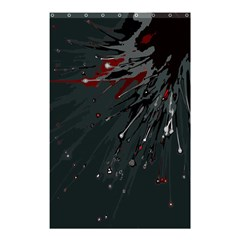 Big Bang Shower Curtain 48  X 72  (small)  by ValentinaDesign