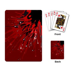 Big Bang Playing Card by ValentinaDesign