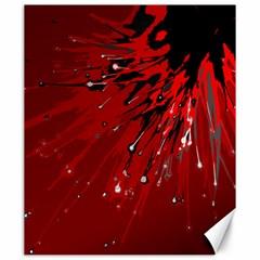 Big Bang Canvas 20  X 24   by ValentinaDesign