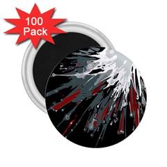 Big Bang 2 25  Magnets (100 Pack)  by ValentinaDesign