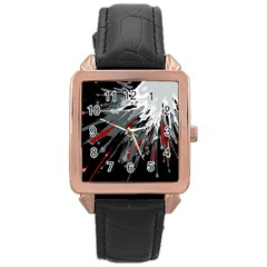 Big Bang Rose Gold Leather Watch  by ValentinaDesign