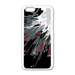 Big Bang Apple Iphone 6/6s White Enamel Case by ValentinaDesign