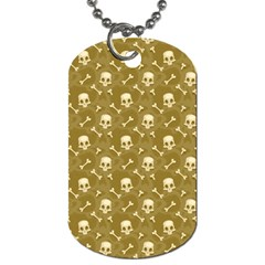 Skull Pattern 1 Dog Tag (one Side) by tarastyle