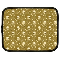 Skull Pattern 1 Netbook Case (xxl)  by tarastyle