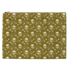 Skull Pattern 1 Cosmetic Bag (xxl)  by tarastyle