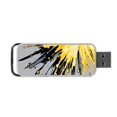 Big Bang Portable Usb Flash (two Sides) by ValentinaDesign