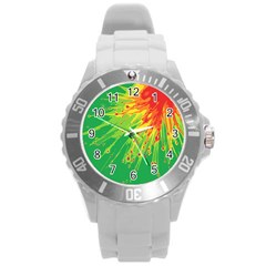 Big Bang Round Plastic Sport Watch (l)