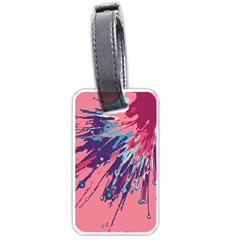 Big Bang Luggage Tags (one Side)