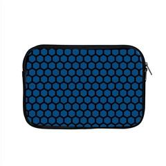 Blue Dark Navy Cobalt Royal Tardis Honeycomb Hexagon Apple Macbook Pro 15  Zipper Case by Mariart