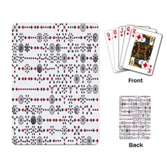 Bioplex Maps Molecular Chemistry Of Mathematical Physics Small Army Circle Playing Card by Mariart