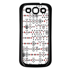 Bioplex Maps Molecular Chemistry Of Mathematical Physics Small Army Circle Samsung Galaxy S3 Back Case (black) by Mariart