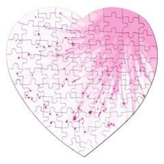 Big Bang Jigsaw Puzzle (heart) by ValentinaDesign