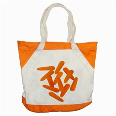 Carrot Vegetables Orange Accent Tote Bag by Mariart