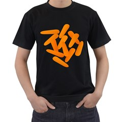Carrot Vegetables Orange Men s T Shirt (black) by Mariart