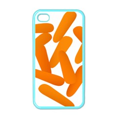 Carrot Vegetables Orange Apple Iphone 4 Case (color) by Mariart