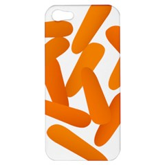 Carrot Vegetables Orange Apple Iphone 5 Hardshell Case by Mariart