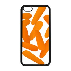 Carrot Vegetables Orange Apple Iphone 5c Seamless Case (black) by Mariart