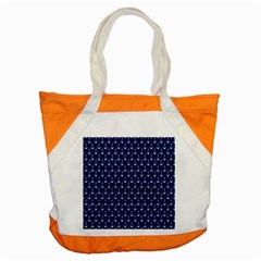 Blue White Anchor Accent Tote Bag by Mariart