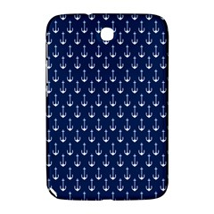 Blue White Anchor Samsung Galaxy Note 8 0 N5100 Hardshell Case  by Mariart