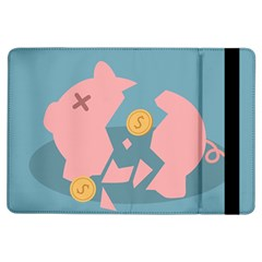 Coins Pink Coins Piggy Bank Dollars Money Tubes Ipad Air Flip by Mariart
