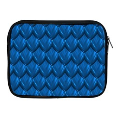 Blue Dragon Snakeskin Skin Snake Wave Chefron Apple Ipad 2/3/4 Zipper Cases by Mariart