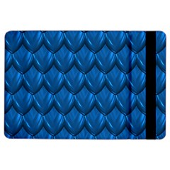 Blue Dragon Snakeskin Skin Snake Wave Chefron Ipad Air 2 Flip by Mariart