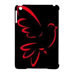 Dove Red Black Fly Animals Bird Apple Ipad Mini Hardshell Case (compatible With Smart Cover) by Mariart