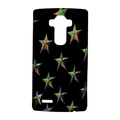 Colorful Gold Star Christmas Lg G4 Hardshell Case by Mariart