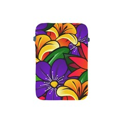 Bright Flowers Floral Sunflower Purple Orange Greeb Red Star Apple Ipad Mini Protective Soft Cases by Mariart