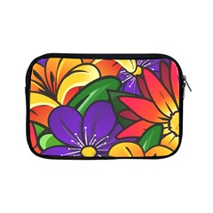 Bright Flowers Floral Sunflower Purple Orange Greeb Red Star Apple Ipad Mini Zipper Cases by Mariart