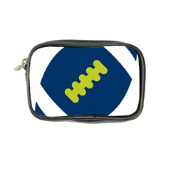 Football America Blue Green White Sport Coin Purse by Mariart