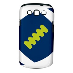 Football America Blue Green White Sport Samsung Galaxy S Iii Classic Hardshell Case (pc+silicone) by Mariart