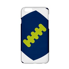 Football America Blue Green White Sport Apple Iphone 6/6s Hardshell Case by Mariart