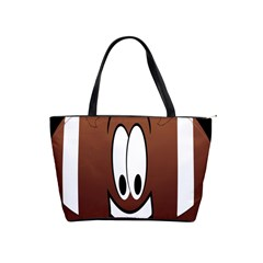 Happy Football Clipart Excellent Illustration Face Shoulder Handbags by Mariart