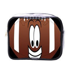 Happy Football Clipart Excellent Illustration Face Mini Toiletries Bags by Mariart