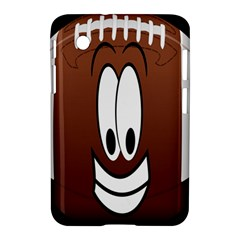 Happy Football Clipart Excellent Illustration Face Samsung Galaxy Tab 2 (7 ) P3100 Hardshell Case  by Mariart
