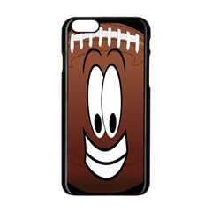 Happy Football Clipart Excellent Illustration Face Apple Iphone 6/6s Black Enamel Case by Mariart