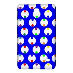 Easter Egg Fabric Circle Blue White Red Yellow Rainbow Samsung Galaxy Tab 4 (8 ) Hardshell Case  by Mariart