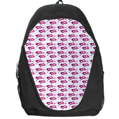 Heart Love Pink Purple Backpack Bag by Mariart