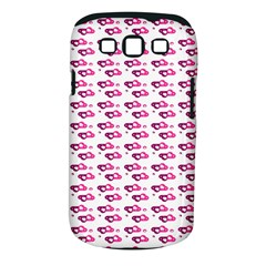 Heart Love Pink Purple Samsung Galaxy S Iii Classic Hardshell Case (pc+silicone) by Mariart