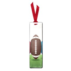 Helmet Ball Football America Sport Red Brown Blue Green Small Book Marks by Mariart