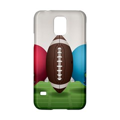 Helmet Ball Football America Sport Red Brown Blue Green Samsung Galaxy S5 Hardshell Case  by Mariart