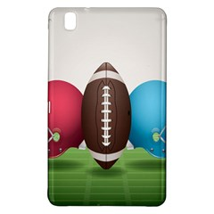 Helmet Ball Football America Sport Red Brown Blue Green Samsung Galaxy Tab Pro 8 4 Hardshell Case by Mariart