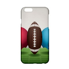 Helmet Ball Football America Sport Red Brown Blue Green Apple Iphone 6/6s Hardshell Case by Mariart