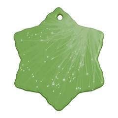 Big Bang Snowflake Ornament (two Sides) by ValentinaDesign