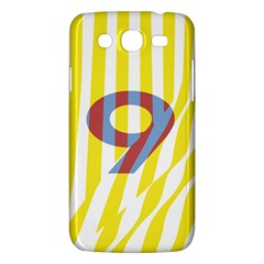 Number 9 Line Vertical Yellow Red Blue White Wae Chevron Samsung Galaxy Mega 5 8 I9152 Hardshell Case  by Mariart