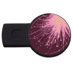 Big Bang Usb Flash Drive Round (4 Gb) by ValentinaDesign