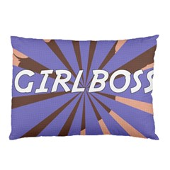 Girlboss Light Line Wave Chevron Pillow Case (two Sides) by Mariart