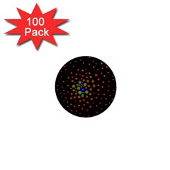 Molecular Chemistry Of Mathematical Physics Small Army Circle 1  Mini Magnets (100 Pack)  by Mariart